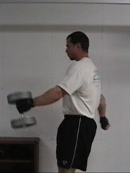Dumbbell Swings 3