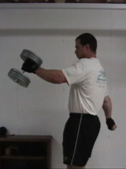 Dumbbell Swings 4