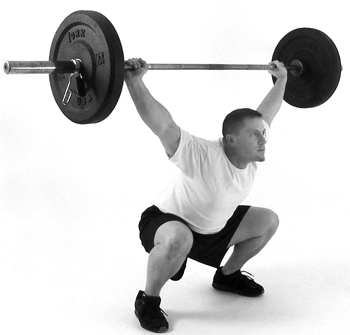 overhead squat for baseball conditioning